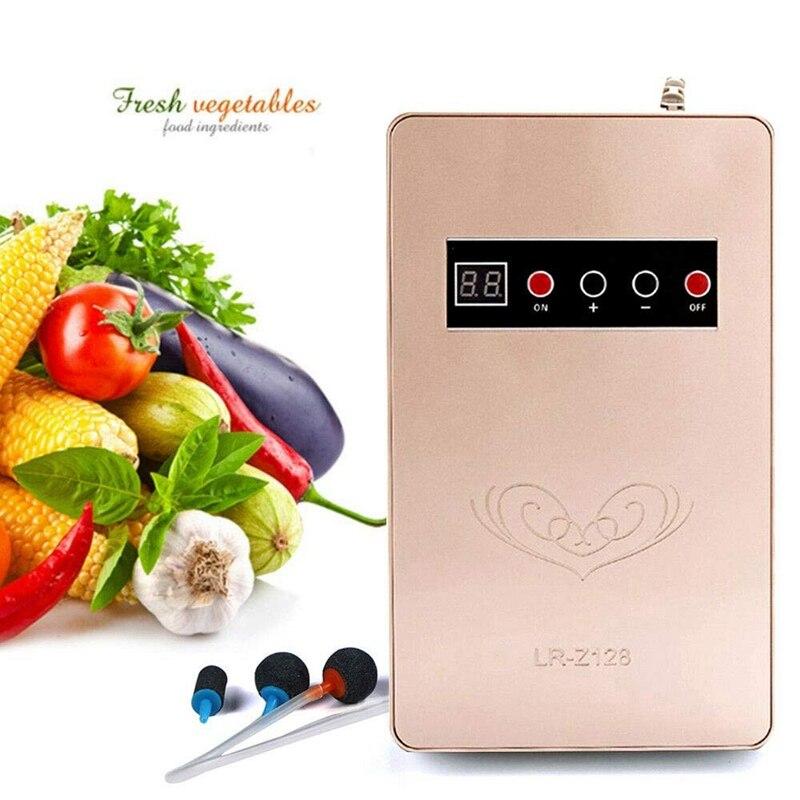 Inteligentny dotykowy typu owoce i warzywa maszyna do dezynfekcji Generator ozonu ozonowy oczyszczacz wody do usuwania zapachów Ozona