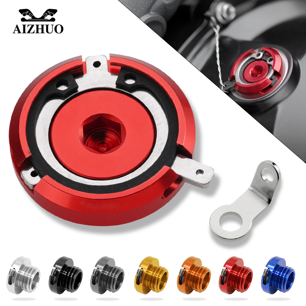 Motorcycle For Triumph DAYTONA 675 DAYTIONA 675 R kawasaki VERSYS 1000 ABS Engine Oil Filler Cup Cap Reservoir Cup M20*2.5 m20 2 5 motorcycle cnc magnetic engine oil filler cap for honda nc700 nc750s nc750x cb500x motor bike accessoreis