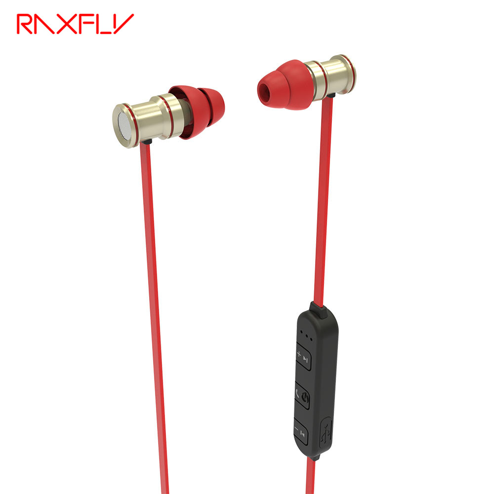 RAXFLY Wireless Sport Bluetooth Earphone for xiaomi iPhone Android Running Earphone Bass Mic Earbud Rock Headphones Headset NFC sport bluetooth headset m3 running wireless bluetooth earphone super stereo headphones with mic for iphone xiaomi android phone