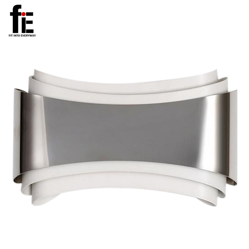 ФОТО fiE Modern Led Wall Lights For Bedroom Study Room Stainless Steel+Acrylic 6W Home Decoration LED Indoor Wall Lamps Free Shipping