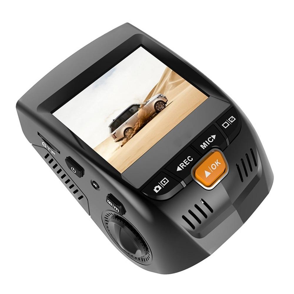 Ecartion 2.4 Mini Car DVR Dash Cam Full HD 1080P Car Camera Video Recorder Front and Back Cam Night Vision Auto Registrators reco classic car cam