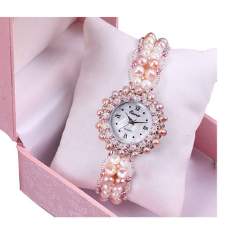 2020 Limited Sale Factory To Spot A Substituting Natural Pearl Bracelet Watch New Ms Quartz Women