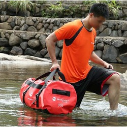 High Capacity PVC Waterproof Dry Bag 30L 60L 90L Outdoor Diving Foldable Beach Swimming Bag Rafting Sailing Ocean Handbag
