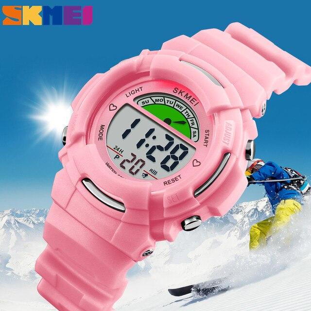 SKMEI Fashion Brand Children Watches Student Wrist Watch Waterproof Kids Watches