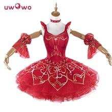 UWOWO Miracle Nikki Women Costume Game Miracle Nikki Uwowo Cosplay Redshoes Dress Kawaii Costume Girls Cosplay