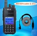 TYT MD-380 UHF 400-480MHz Digital Radio Walkie Talkie HF Transceiver with Colorful Display 1000 Channels Cb Radio Ham Radio