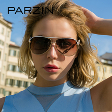 PARZIN 2017 Luxury Diamond Polarized Women Sunglasses Elegant Brand Designer Clear Sunglasses For Driver Women Pilot Eyewear