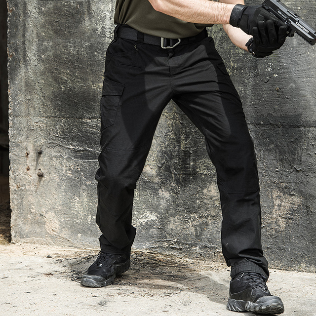 Casual Combat Cargo Pants Army Active Multi Pocket