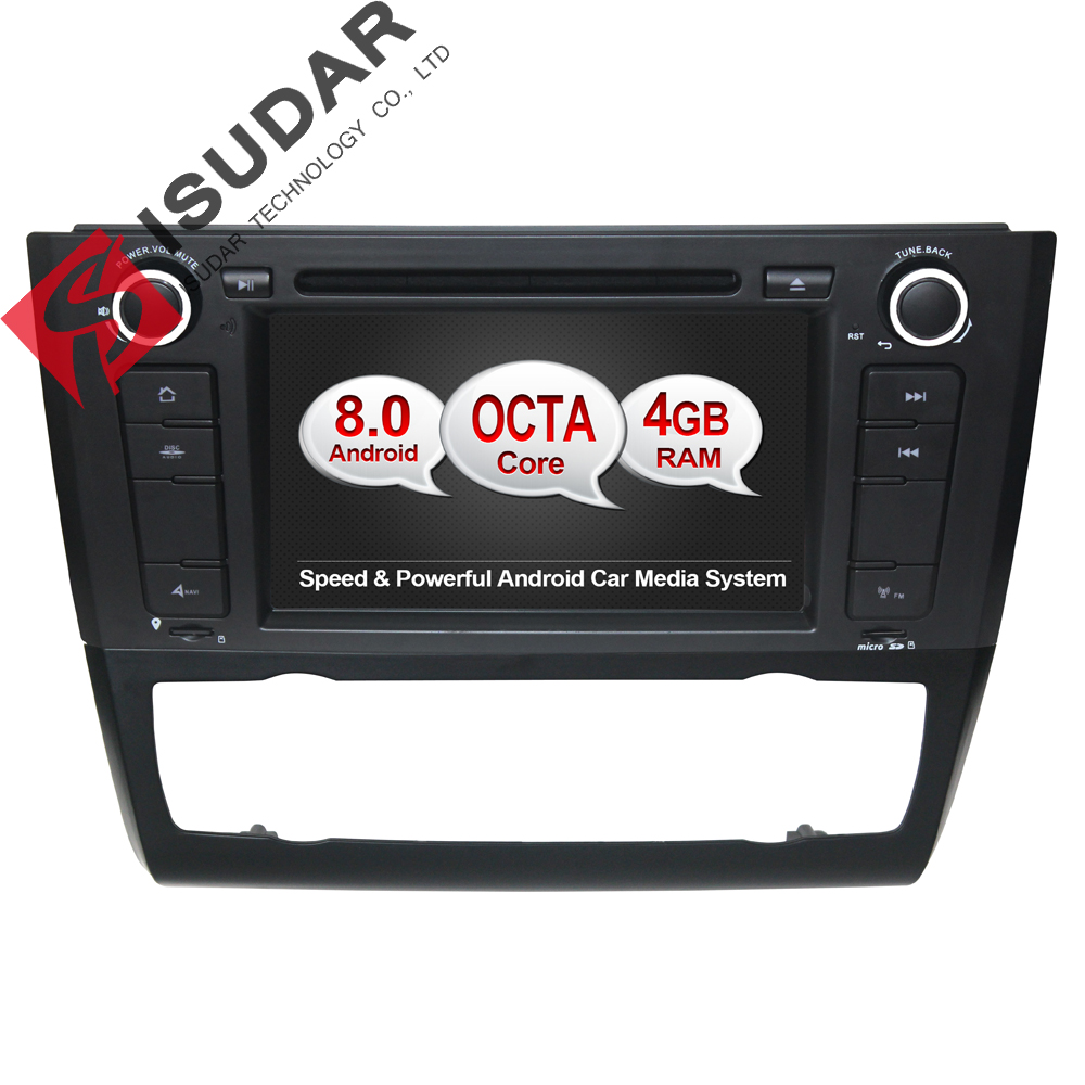 android 8 0 7 inch car dvd player stereo system for bmw 1. Black Bedroom Furniture Sets. Home Design Ideas