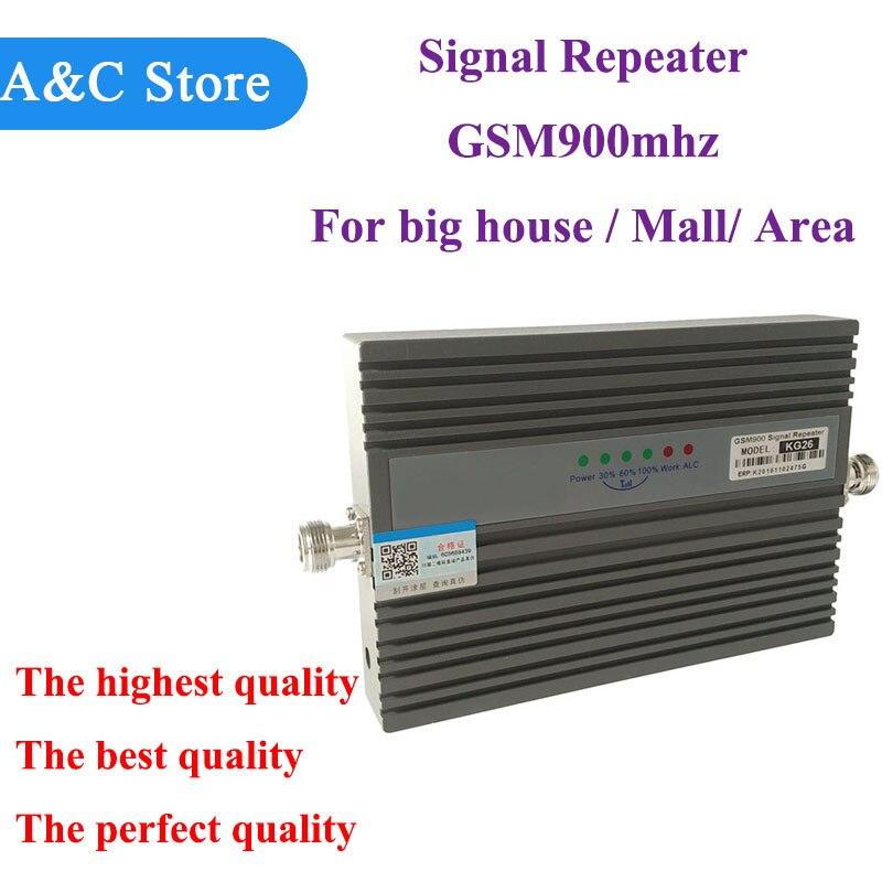 Amplificateur cellulaire de répéteur de Signal Mobile du propulseur 900 mhz de Signal de GSM de téléphone portable de GSM 2G pour le centre commercial énorme de grande maison