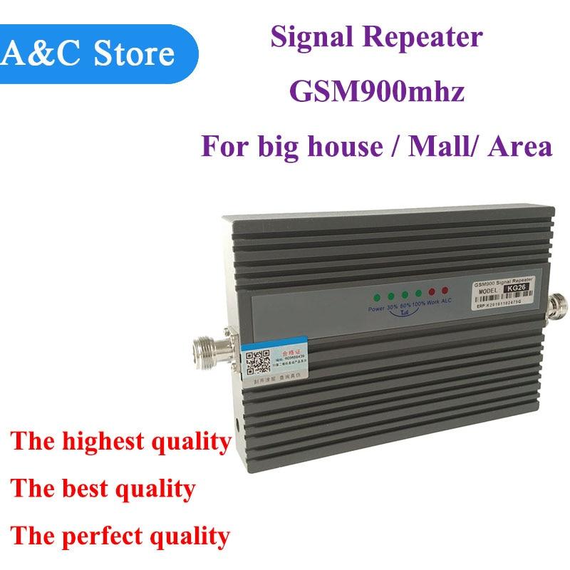 GSM Booster 2G Cellulaire Téléphone GSM Signal Booster 900 mhz Mobile Signal Répéteur Cellulaire Amplificateur pour grande maison énorme zone center commercial