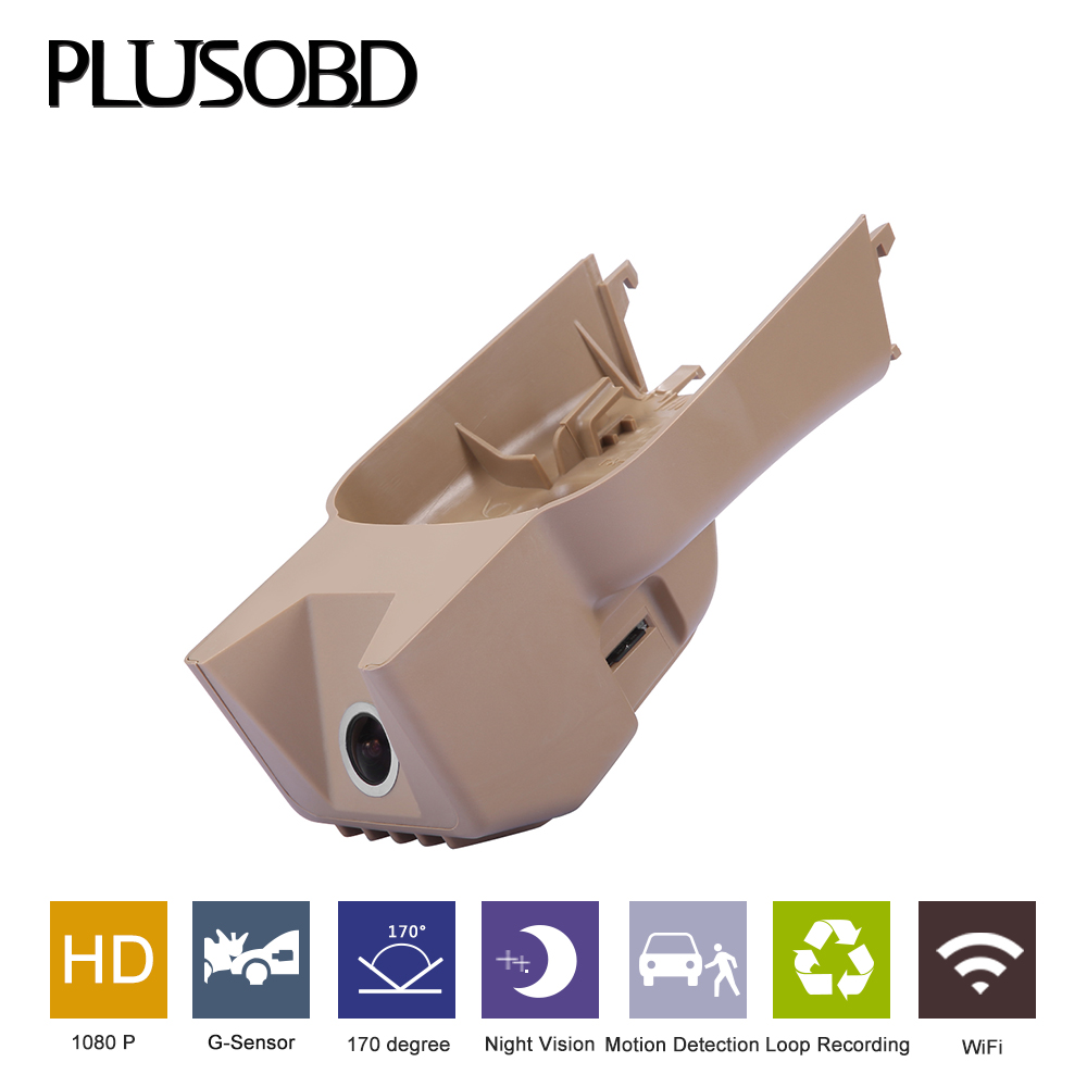 PLUSOBD Dash Cam Car DVR For GL M R 164/X164/251 1080P 30FPS Wifi Car Camera DVR Video Recorder With Aluminimium Alloy Shell