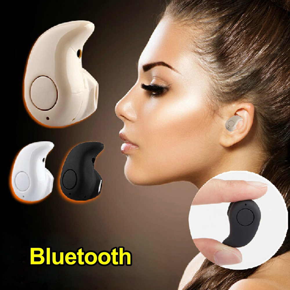 S530 Mini Wireless Bluetooth Earphone in ear Sports with Mic Earbuds Handsfree Headset Earphones Earpiece for iPhone 7