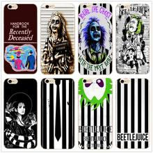 Beetlejuice Handbook fashion hard phone case cover for Samsung s8 s9plus S6 S7Edge S5 for iPhone 7 6s 8plus 5s 5c X XS XR XSMAX