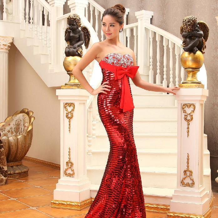 Us 1430 Black Tie Evening Dresses Ireland Pregnant Women Couture Elegant Uk Trumpet Mermaid Floor Length Built In Bra Bow N 2015 Outlet In Evening