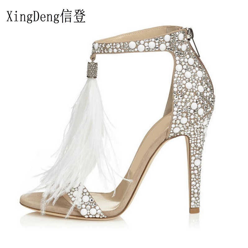 268c39fefa Detail Feedback Questions about Bling bling bridal wedding shoes ...