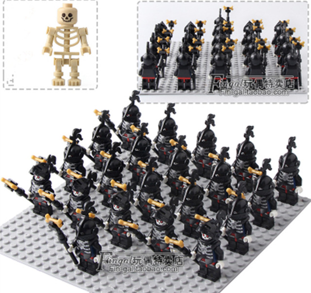 NEW 21pcs/lot Medieval Knights Crusader Rome Commander Soldiers Army Group toys legoingly figure compatible  building block