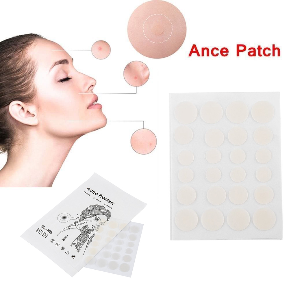24pcs face spot scar care acne pimple master patch treatment stickers anti infection pimple spot invisible hydrocolloid in face skin care tools from beauty  [ 1000 x 1000 Pixel ]