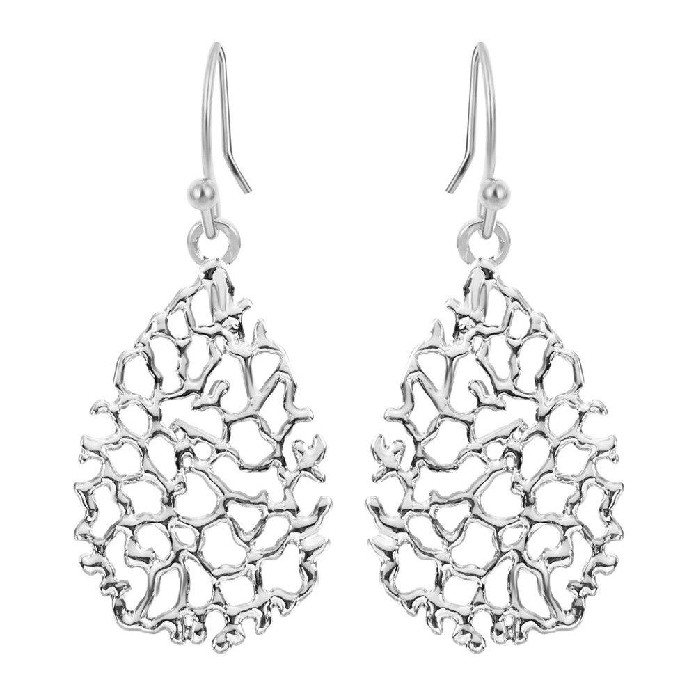 Todorova High Quality Zinc Alloy Big Water Drop Earrings for Women New Trendy pendientes mujer moda Hanging Earrings brinco