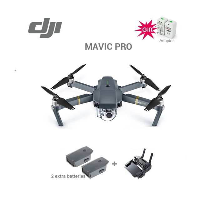 DJI Mavic pro drone con batteria supplementare 4 K video 1080 p macchina fotografica rc helicopter Freeshipping in magazzino