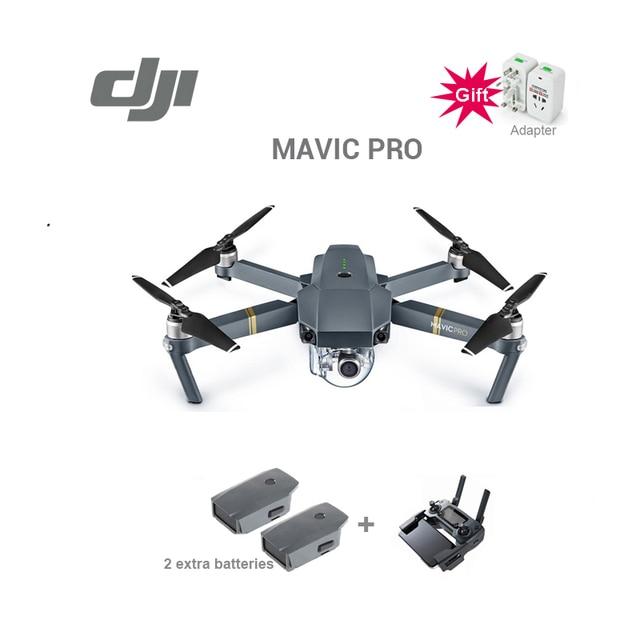 DJI Mavic pro drone con batteria supplementare 4 K video 1080 p macchina fotografica rc helicopter Freeshipping in magazzino