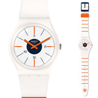 Swatch watch classic color cipher series quartz watch GZ318
