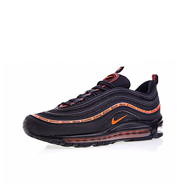 9a49ba3697 ... Authentic Nike Vlone Air Max 97 OG Mens Running Shoes Sneakers Sport  Outdoor Good Quality Breathable. Previous. Next
