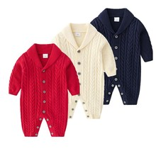 Kids Baby Clothing Long Sleeve Rompers Clothes