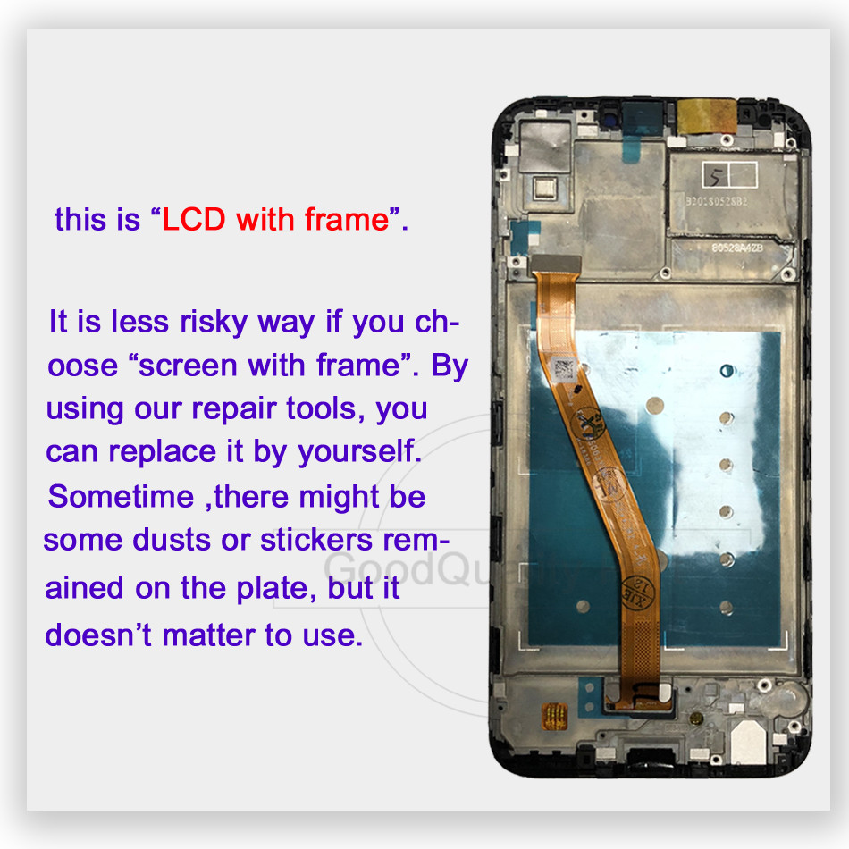 "Image 3 - 6.3"" lcd For Huawei Honor Play COR L29 COR AL00 COR TL10 LCD Display Digitizer Touch Screen Assembly For Huawei honor play-in Mobile Phone LCD Screens from Cellphones & Telecommunications"