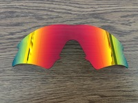 Inew Fire Ruby Red polarized Replacement Lenses for M frame Sweep
