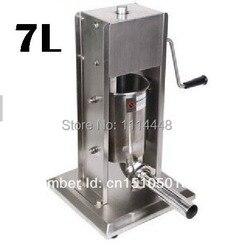 Instrukcja ze stali nierdzewnej kiełbasa nadziewarka maszyna do kiełbasy nadziewarka do kiełbasy 7L