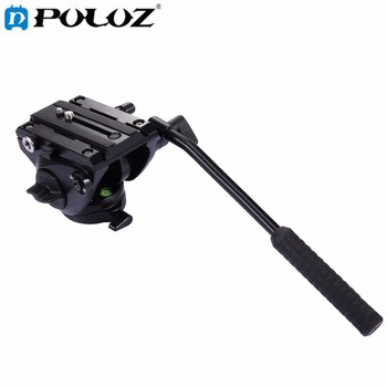 PULUZ Video Tripod Head& Quick Release Sliding Plate for DSLR Panoramic head for monopod Monod Tripod Slider Video Film Shooting