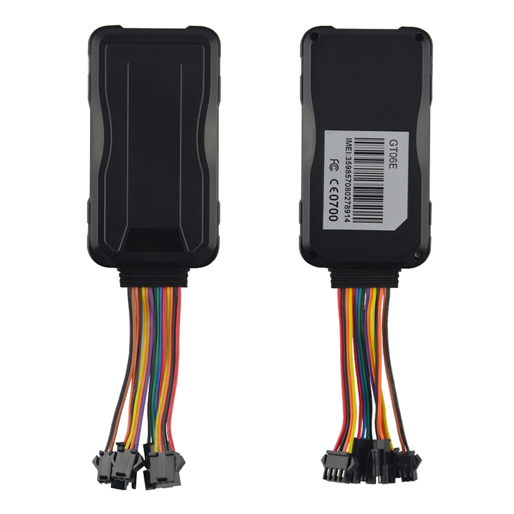 Dispositif de suivi de voiture 3G GPS Tracker Concox GT06E huile coupée GPS Rastreador veiculaire étanche kilométrage alarme de Vibration APP Web