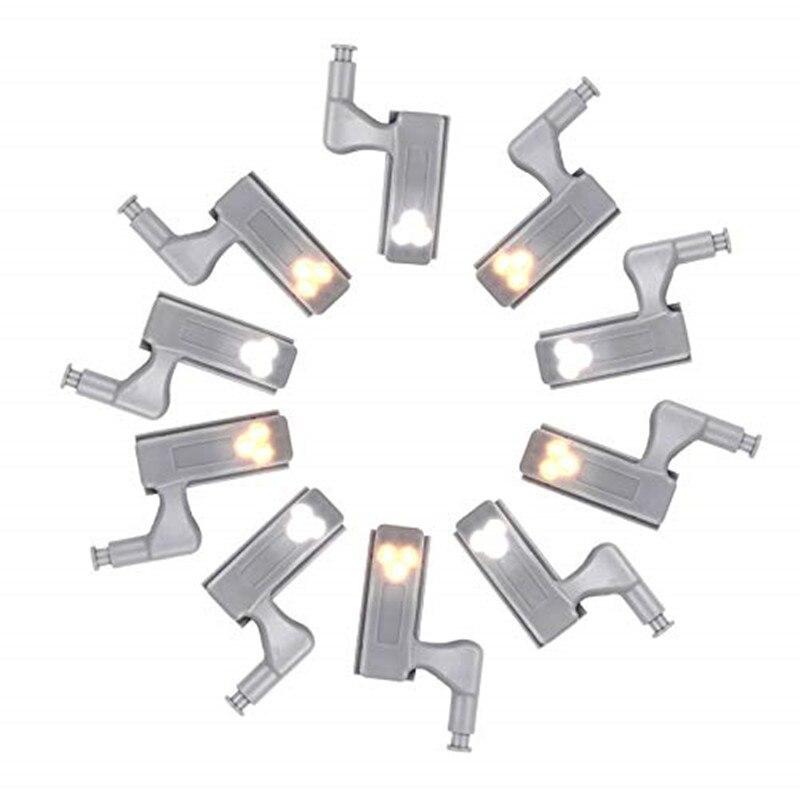Светодиодная лампа с внутренним шарниром под шкафом, универсальный шкаф, датчик освещения, LED Armario для шкафа, шкафа, кухни, спальни