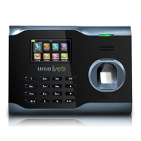 ZK U160 Fingerprint Time Attendance WIFI TCP/IP Fingerprint Time Clock