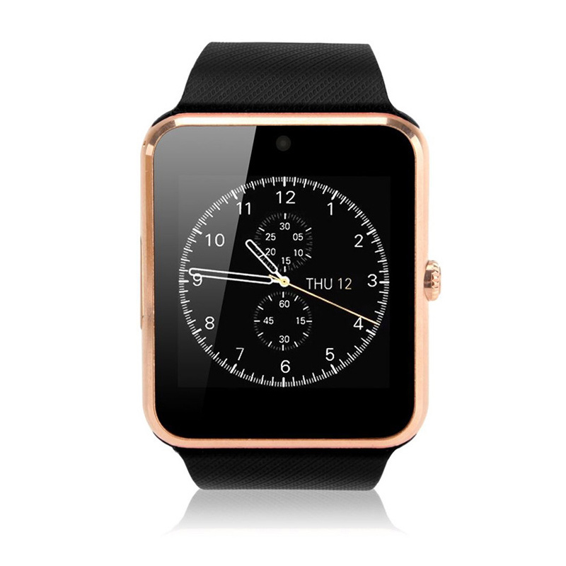 imágenes para Original GT08 Notificador con Sim Bluetooth Smartwatch reloj inteligente Reloj de Sincronización para Apple IOS xiaomi Samsung Android Teléfono PK DZ09