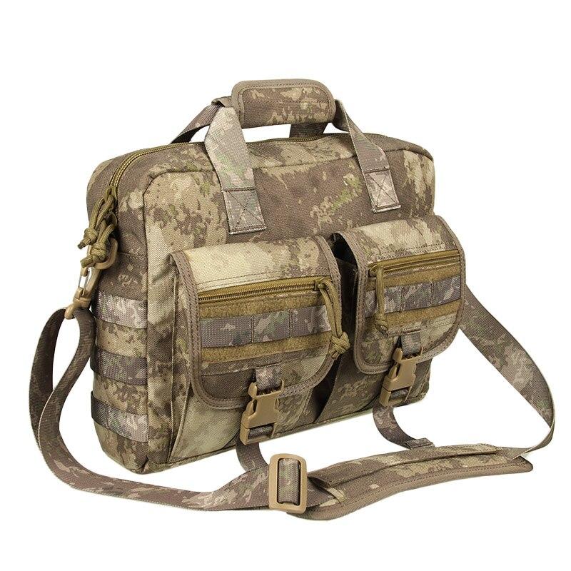 Sac à bandoulière militaire sac Messenger haute qualité offre spéciale 1000D tissus Cordura pour 14 pouces ordinateur PP5-0046
