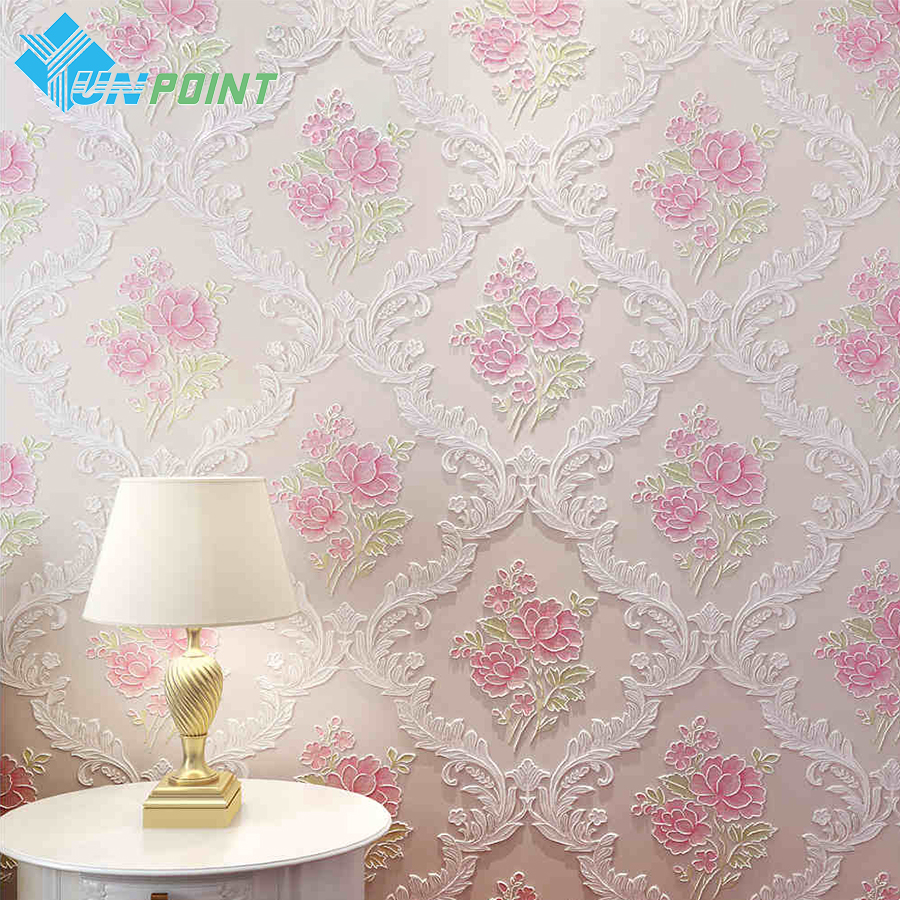 Pink And White Wallpaper For A Bedroom Online Buy Wholesale Wallpaper Pink From China Wallpaper Pink