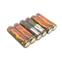 10pcs/lot Trustfire 18650 Golden Protected Battery 3.7V 3000mAh Flashlight Torch Lithium Rechargeable Free Shipping