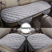 Free shipping the luxury car seat protector for the driver's seat cushion car styling breathable summer car seat accessories 3pc