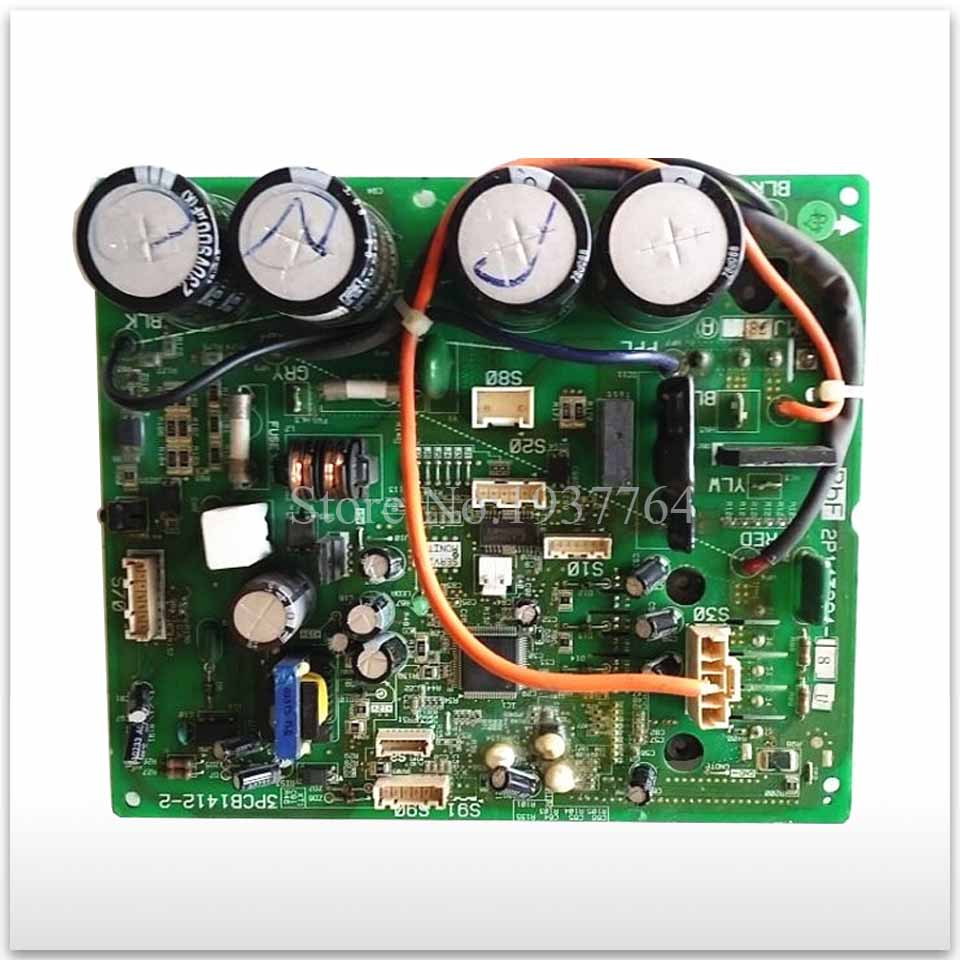 good working for Air conditioning board circuit board 2P143284 3PCB1412 2 computer board