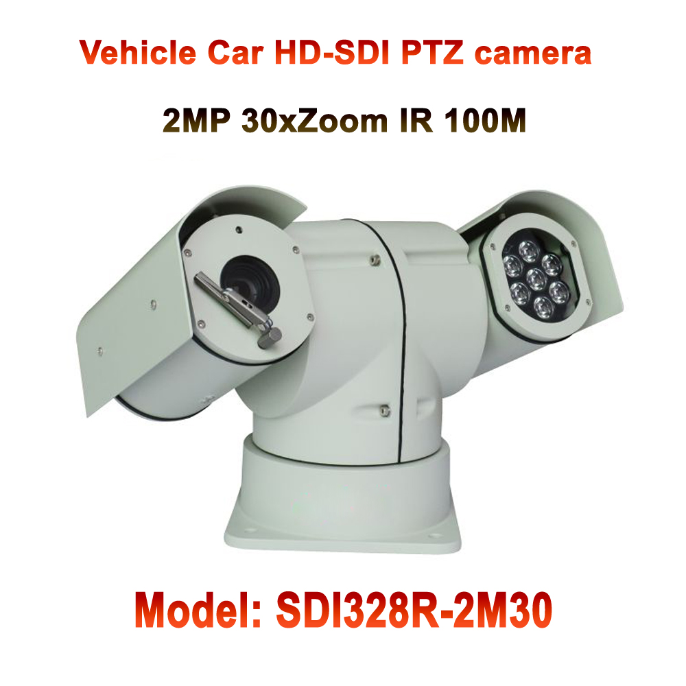 2MP 30x Optical Zoom Full HD 1080P Infrared Night Vision HD-SDI PTZ Camera For highway intersection or Road Toll Station