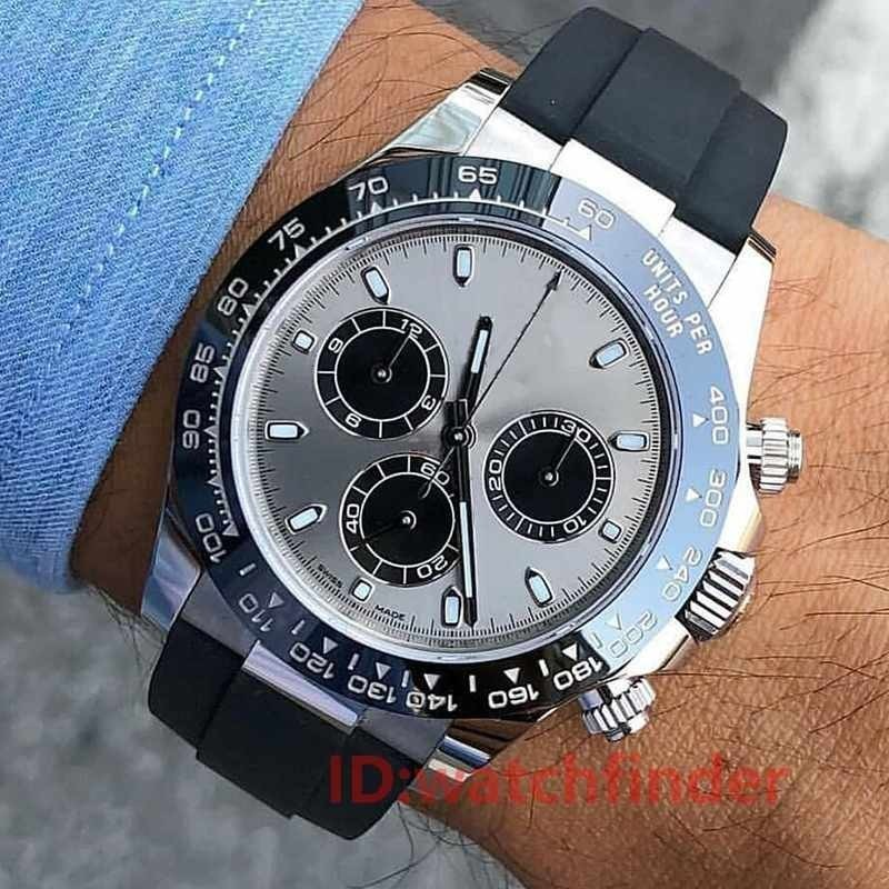 Asia 2813 Rose Gold 116519 LN Ceramic Luxury Brand Automatic Mechanical Aaa Designer Mens Watch Fashion Watches Wristwatches