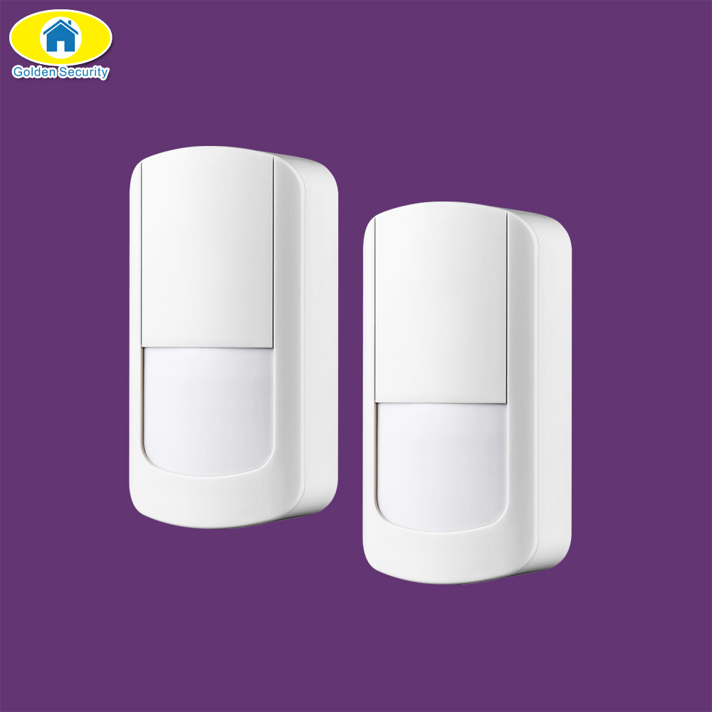 Golden Security 2Pcs 433MHz Wireless PIR Sensor Motion Detector for S5 G90B Plus WiFi Home Security Alarm Systems(China)