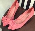 Новое прибытие женская обувь мода туфли на Высоком каблуке туфли на каблуках 66-9 большой размер обуви Насосы