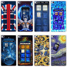 Doctor Who Hard Transparent Cover for Huawei