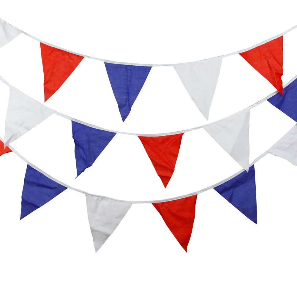 US $3 44 20% OFF|12 Flags 3 5M Multi Colour Cotton Banners Customize  Wedding Bunting Decor Party Birthday Baby Shower Garland Decoration-in  Banners,