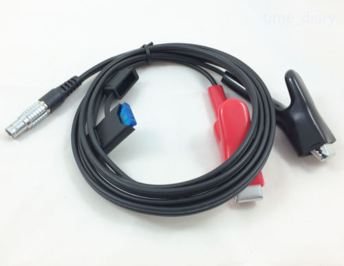 все цены на NEW 1.8m Power Cable with fuse for Leica GPS SR-530 Surveying 5-Pin