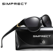 SIMPRECT 2020 Square Sunglasses Women Polarized UV400 High Q