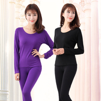 New Plus Size Pajamas Set Winter Warm Cotton Women Sleepwear Lounge Pullover Tops & Bottoms Thermal Underwear for Women XL 5XL